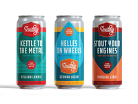 Red Truck Beer Company Concept – 473mL Tall Can Series