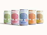 Lonetree Cider Packaging