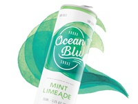 Ocean Blu Vodka Soda Packaging – Option 5