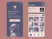 Pet shop app
