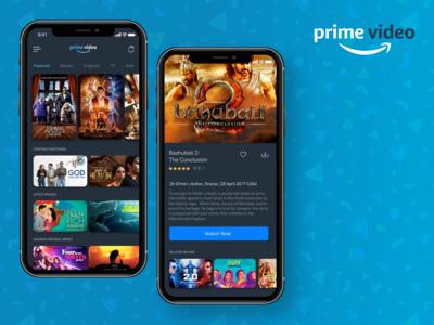 Amazon Prime Video Concept