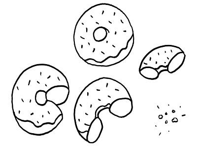 Doughnuts illustration