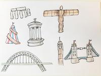 UK icons and landmarks 4