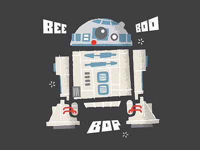 R2 D2 Dribbble luke skywalker x-wing astromech robot star wars droid