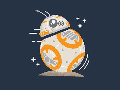 BB-8 Dribbble luke skywalker x-wing astromech robot star wars droid