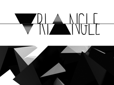 Triangle leaflet design minimal alejandro landero sevilla seville photoshop compo 3d particles vfx