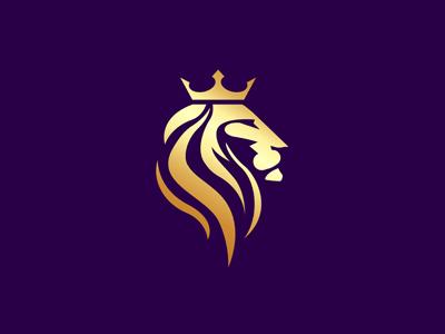 royal lion logo by a11 designs dribbble