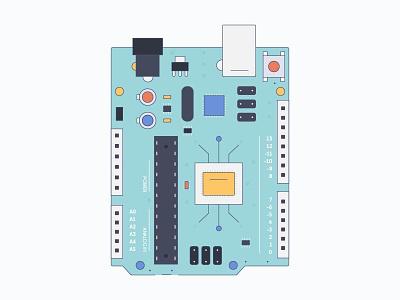 Arduino board code c illustration circuits board arduino