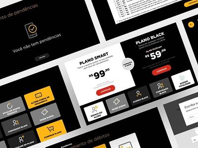 Totem Smart Fit smart fit display screen login space client plans local branding interface ux design ui totem