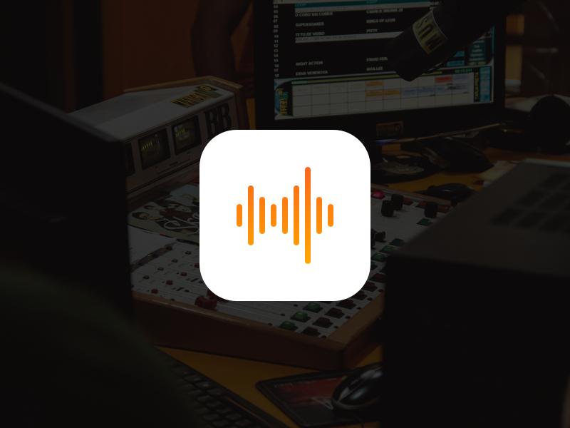 Voice Memos Icon mobile design ux ui ios 10 ios 9 dailyui ipad iphone ios icon voice memos