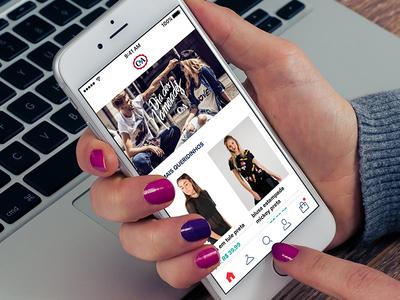 C&A App Redesign fashion shop ecommerce sku home ui mobile iphone redesign app ios cea