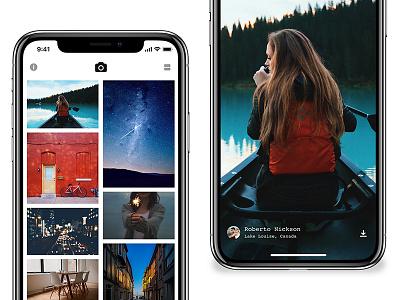 Splash support for iPhone X ux ui design mobile ios 11 iphone x application ios app unsplash