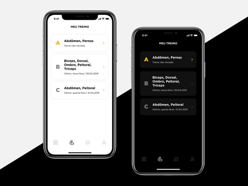 Dark mode experiments inspiration application dailyui ux mobile app ios iphone design material interface ui experiment dark mode