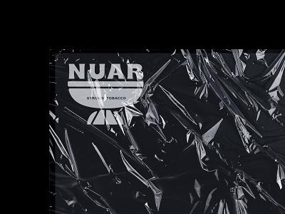 nuar. logo for hookah tobacco typography vector identity design brand design brand identity branding minimal logotype logo