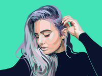 Vector Self Portrait