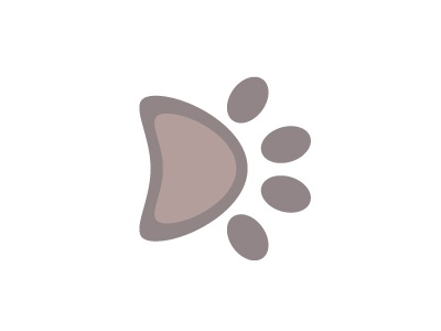 36 days of type >> D <<  paws dogs dog 36days-d design project graphic illustrator vector d 36daysoftype type