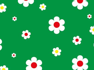 Daisy Friday green petals vector flower daisy
