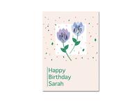 Card design I birthday