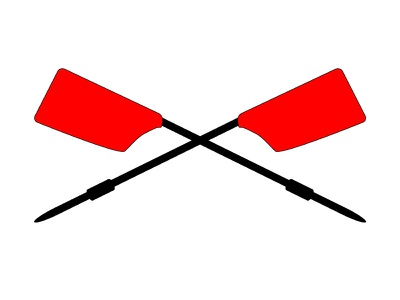 Rowing oars oar oars sporting red sport row rowing