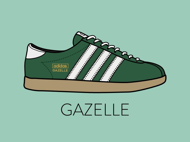 gazelle adidas logo