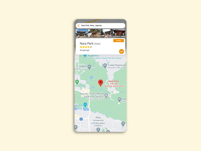 Daily UI 029 - Map 029 dailyui029 dailyuichallenge dailyui map flat interface app ux ui design