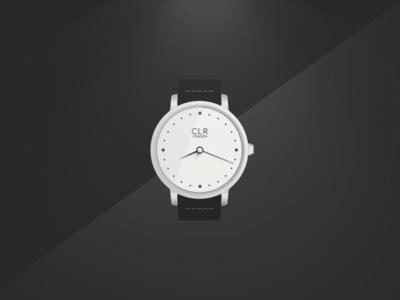 CLR · Custom Watch Illustration