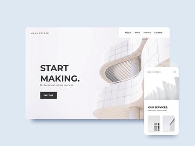 ClickAi - Template minimal