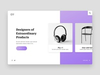 Products Landing Page