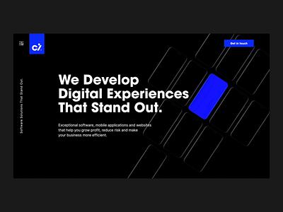 Cimet Menu/Process/About web simple black white user experience design ux user interface design clean motion design motion user experience figma website type design ui animation webdesign user interface typography
