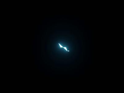 Lightstudio - Coming soon... glowing glow in the dark glow animal lightstudio light logodesign logo design animated simple motion motion design design clean logo branding animation