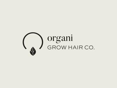 organi | full logo client graphic design sans serif serif rebrand redesign lifestyle skincare haircare natural organic mark logotype logo design logo