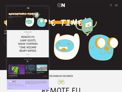 — cartoon network: hompage