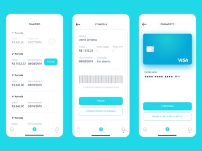 Mobile University app - (Payment)