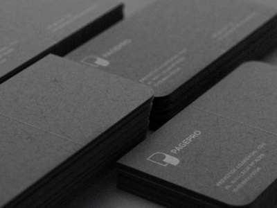 PAGEPRO pagepro businesscard identity logo design