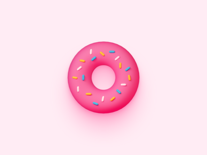 Donut Icon for matcha.xyz pink candy icon 3d design ethereum tokens