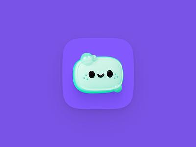 Soapbox Icon conversations ux ui chat box soap 3d illustration logo design