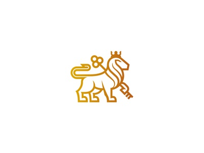 KINGDOM logo lion royal kingdom gold majestic