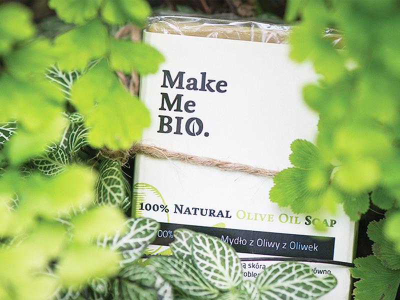 Make Me Bio Soap package logo design soap