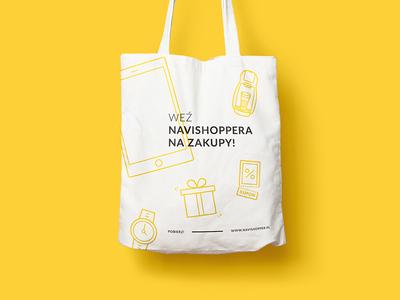 Navishopper shopping bag