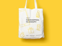 Navishopper shopping bag