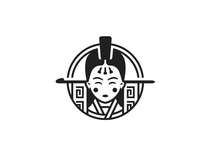 Face wedding logo face korean