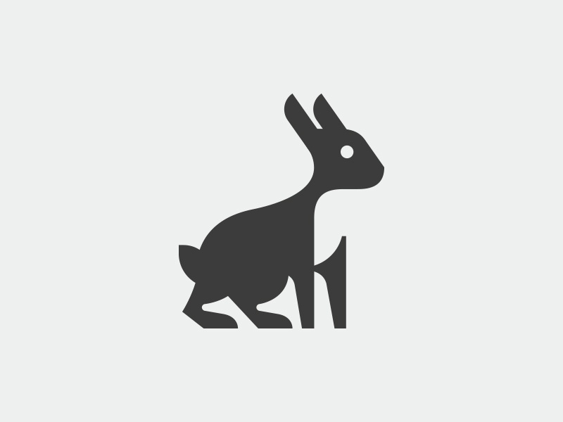Rabbit symbol symbol logo rabbit