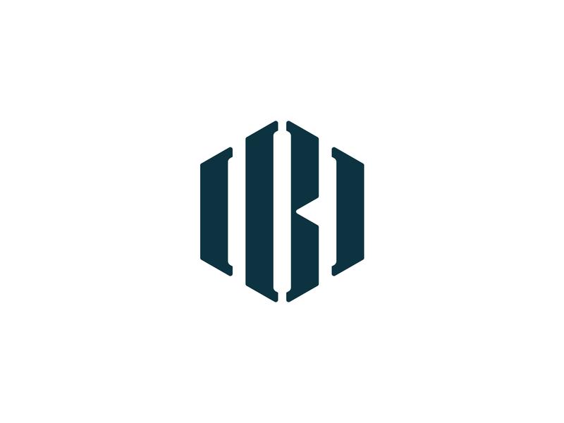 IBI Monogram logo design logotype logos logo design monogram logo monogram