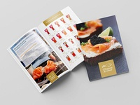 Product catalog of Flagman Seafood company