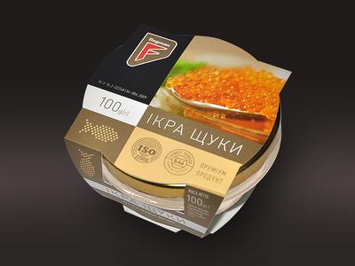 Packing of pike caviar for Flagman TM