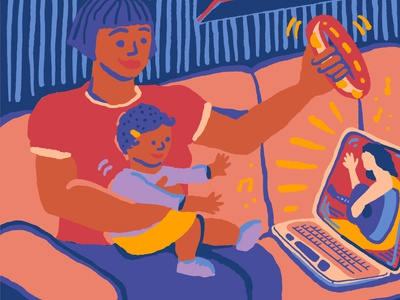 Online Classes for Families zoom virtual online music kids