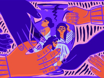 Women of Troy greece ancient europe spot antiquity men women vase history greek editorial illustration
