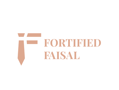 Logo for Fortified Faisal, an Instagram fashion content creator vector graphicdesign adobe illustrator graphic  design logotype band designer logodesigner branding design brand design branding brandidentity brand logodesigns logodesign logos logo