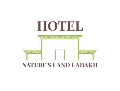 Logo for Hotel Nature's Land Ladakh simple logo graphicdesign hotel graphic  design adobe illustrator logo design band designer brand designing brand design branding brand logodesigning logo designs logodesign logos logo