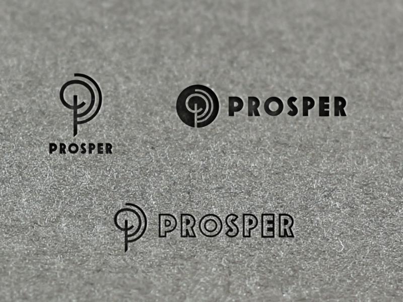 Prosper by LogoBucket on Dribbble